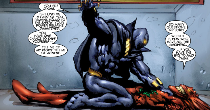Black Panther and Mephisto