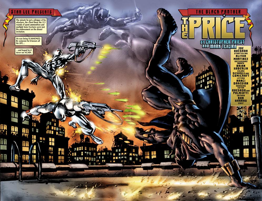 Journey Through Comics: Priest's Black Panther Part 4 ... - photo#6