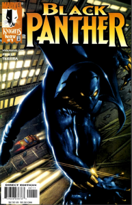The cover to Black Panther vol. 2 #1