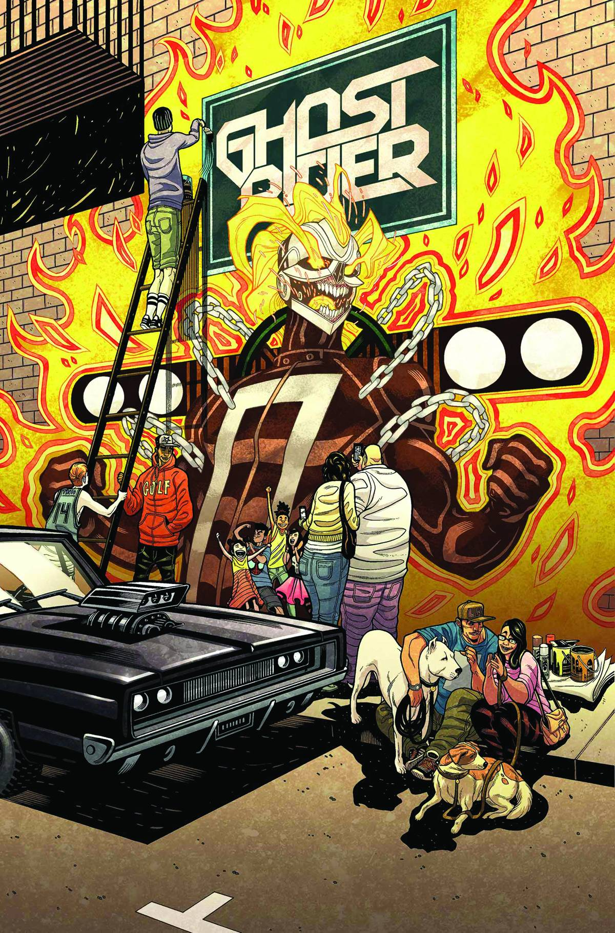 All New All Different Avengers Vol 1 2: All-New Ghost Rider #6 Review